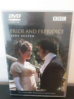 Pride And Prejudice (DVD, 2005, 2-Disc Set) Colin Firth As Mr Darcy -BBC Classic
