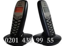 Erweiterungsset für Siemens Gigaset A155 Telefon Pack / Mobilteil mit Ladeschale