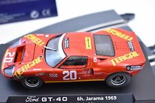 FLY CAR MODEL #88046 FORD GT 40 6H JARAMA 1969 JOSE M JUNCADELLA- GORDON SPICE