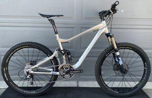 Giant Trance XO Suspension Mountain Bike Medium Shimano XTR Fox $5700 Retail WOW
