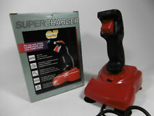 Supercharger QJ Controller OVP Vintage Rot Atari Commodore CPC Computers