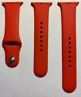 New Apple Watch Product Red Sport Band Series 2 3 38mm 4 5 40mm Genuine 2nd Gen