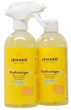1 Liter Jemako Kraftreiniger Eco plus 2 X 500 Ml Sprühpumpe
