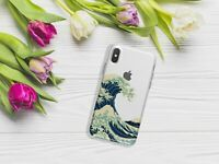 Kanagawa Wave iPhone XR XS Max Silicone Case iPhone 6 7 8 Plus Nature Gel Case