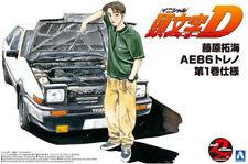 Toyota Sprinter Trueno AE86 Fujiwara Takumi 1:24 Model Kit Aoshima 059609