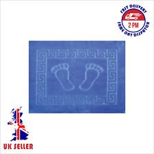 Bath Mat, Non - Anti Slip, Soft, Happy Feet Design,Fast Dry, Made in Turkey