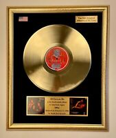 2Pac - All Eyez On Me Vinyl Gold Record Framed Display