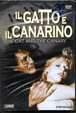 IL GATTO E IL CANARINO THE CAT AND THE CANARY DVD SEALED CON CONTENUTI SPECIALI