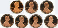 2010 - 2019 Lincoln Shield Proof Cent Set - Pennies Penny Lot Collection - BH839