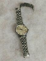 Vintage Mens Swiss HELBROS INVINCIBLE 17 JEWEL MANUAL WIND Wristwatch WORKING