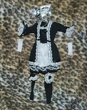 "French Maid Outfit for Female 1/6 scale 12"" action figure. Dragon.Girl BBI CY CG"