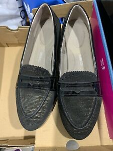Rockport Black Loafer Size 38