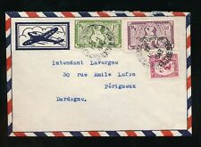 FRENCH INDOCHINA 1949 AIRMAIL UNUSUAL ENVELOPE AIRCRAFT
