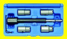 BGS 62605 Satz Fräser Injektoren Dichtsitz für CDI Motoren 5 tlg Fräsersatz NEU