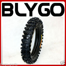 "KENDA CARSBAD 80/100 - 12"" Inch Rear Knobby Tyre Tire + Tube PITTrail Dirt Bike"