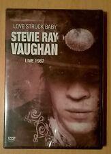 STEVIE RAY VAUGHAN Love Struck Baby Live 1987 (DVD neuf scellé/sealed) RARE