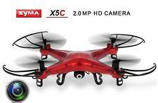 Syma x5c quadrocopter drone 2,4 GHz 3d 6-ejes Gyro drone HD cámara 3d 2mp