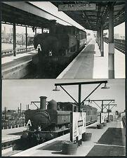 RAILWAY 1949 STEAM BRANCH TRAIN GREENFORD MIDDX B.T COOKE HANDSTAMPED 2 PHOTOS