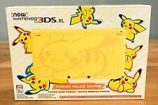 Nintendo 3DS XL Console Pokemon Pikachu Yellow Limited Edition USA NEW IN BOX