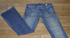 P&Y Denim  Jeans pour Femme W 30 - L 34 Taille Fr 40 MICHELLE  (Réf #P204)