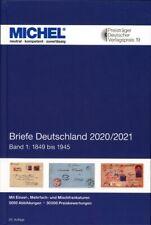 Michel Briefe Deutschland 2020/2021 Band 1 1849-1945 Portofrei! Neu