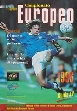 Apex Sport Euro 96 programme/guide ITALIAN EDITION 140 A4 pages couleur