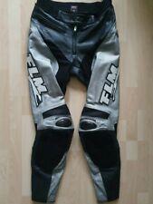 FLM Lederhose Gr. 54 Neuwertig Race Suit Carbon Hose Leather Pants