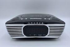 VICTROLA V50-250 BLUETOOTH ALARM CLOCK WITH CD PLAYER & FM RADIO