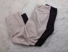 Gap Maternity Pants Lot 2 Sz 4R Black Khaki Pregnancy Comfortable