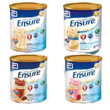 Abbott Ensure Nutrition Powder Milk Chocolate Vanilla Strawberry Grains 400 g