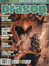 D&D d20 3rd Edition Dungeons & Dragon Magazine #343 Creature Catalog SW!
