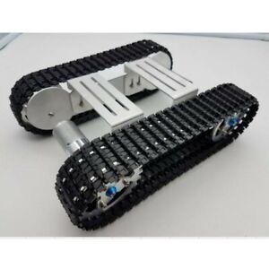 Aluminium Platform Damping Metal Tank Robot Chassis DIY Crawler for Arduino NEW
