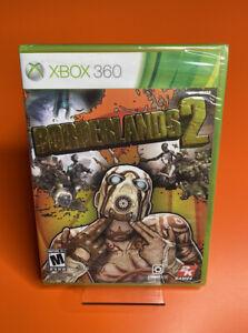 Borderlands 2 | Microsoft Xbox 360 2012 | FACTORY SEALED 🐾