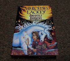 MERCEDES LACKEY hardcover SERIES: VALDEMAR BRIGHTLY BURNING 1st printing