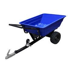 Remolque basculante ATV Quad pesado tractor de granja de jardín off-road Neumáticos 295kg