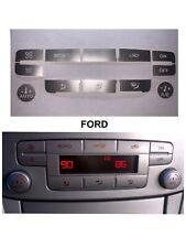 Pegatinas Clima Ford S-max Mk3 Smax,mk4 Focus Mondeo Kuga C-Max  color Plata