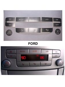 Climatizador Ford S-max Mk3 Smax,mk4 Focus Mondeo Kuga C-Max  color Plata