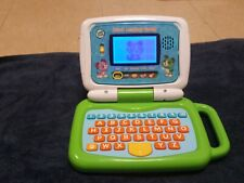 Leapfrog 2 in 1 Leaptop Touch Green And Blue Barely Used Must See! Euc!