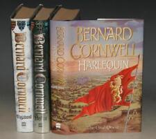 Bernard Cornwell: The Grail Quest Series. Harlequin; Vagabond; & Heretic; 3 Vols