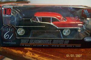 1:18 1957 Oldsmobile Super 88 hardtop by Highway 61 diecast cars.