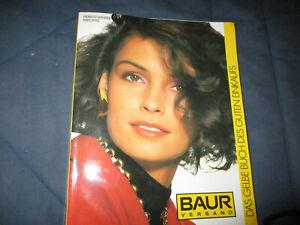 Baur Katalog Versandhauskatalog Herbst Winter 89/90 1989 1990 komplett