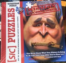 SIC PUZZLES by David O'Keefe George W Bush ZIP ITMission Accomplished Political