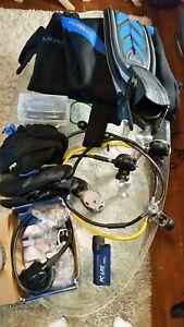 Apeks scuba diving set
