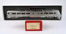 S.SOHO HO SCALE BRASS BURLINGTON DOME COACH (PLATED) -RED BOX