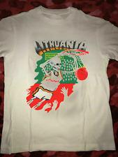 Grateful Dead  1992 Lithuania Basketball Cotton White Men's T-Shirt S-4XL BC330