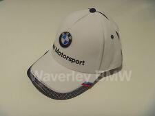Genuine BMW Motorsport Hat Cap Lifestyle Product 80162446453 Merchandise