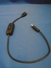 INTERRUPTOR USB a Alargadera / Cable Energía en / Apagado datos Conectado 50cm