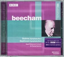 Sir Thomas BEECHAM BEETHOVEN BRAHMS Symphony No.2 BBC CD Edinburgh Festival 1956