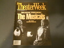 Season Preview: The Musicals - Theater Week Magazine 1994