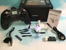 Hubsan X4 Plus H107C+ Quadcopter Drone HD Camera Altitude Hold 2 Batteries RTF